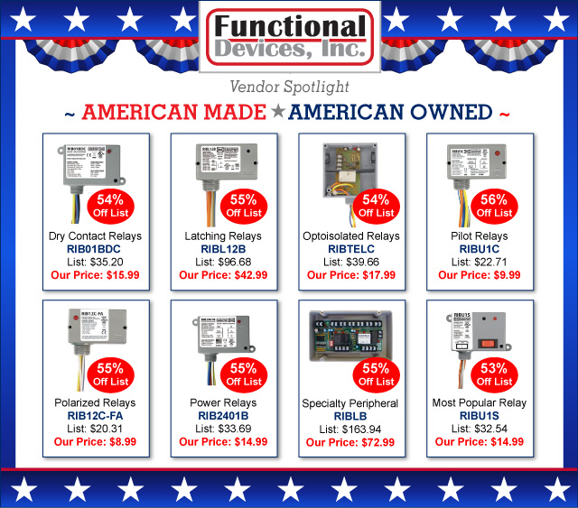 Functional Devices - Made in U.S.A.