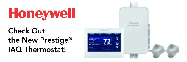 Check Out the New Prestige® IAQ Thermostat