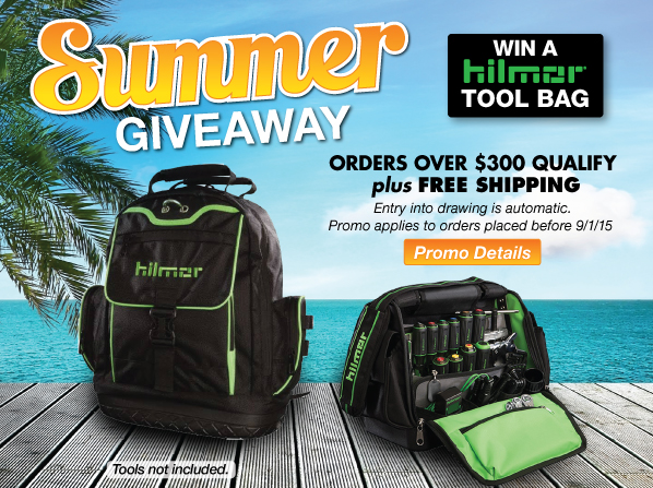 Summer Giveaway - plus FREE SHIPPING on qulaifying orders over $300