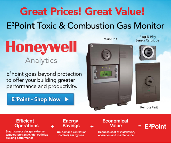 Honeywell E3Point Toxic and Combustion Gas Monitor