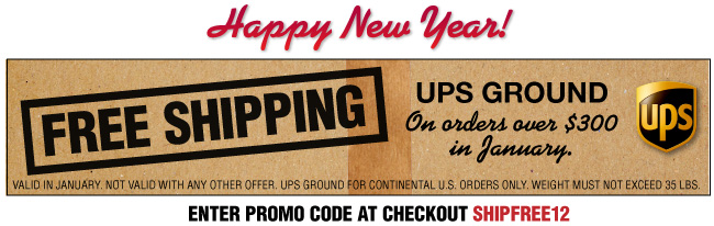 Free Shipping - Happy New Year