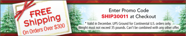 Free Shipping in December - Happy Holidays