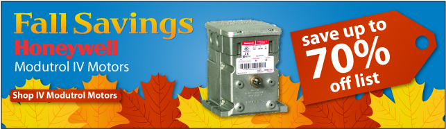 Fall Savings Honeywell Modutrol Motors Up To 70% OFF List Price