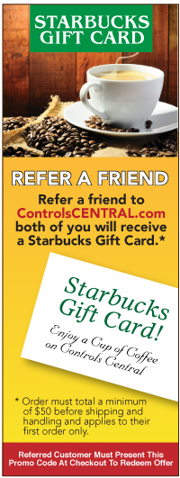 Refer a Friend to ControlsCentral.com
